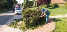 Práce v obci v období apríl - jún 2020